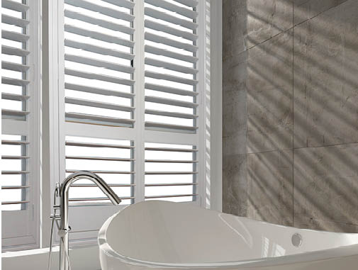 Hinged Aluminium Plantation Shutters