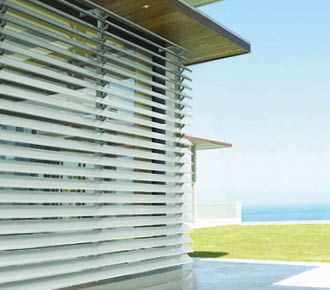 metal louvres - awnings