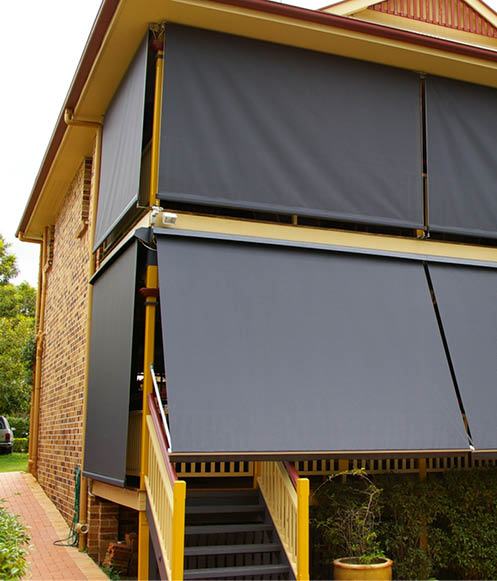 straight drop verandah awnings