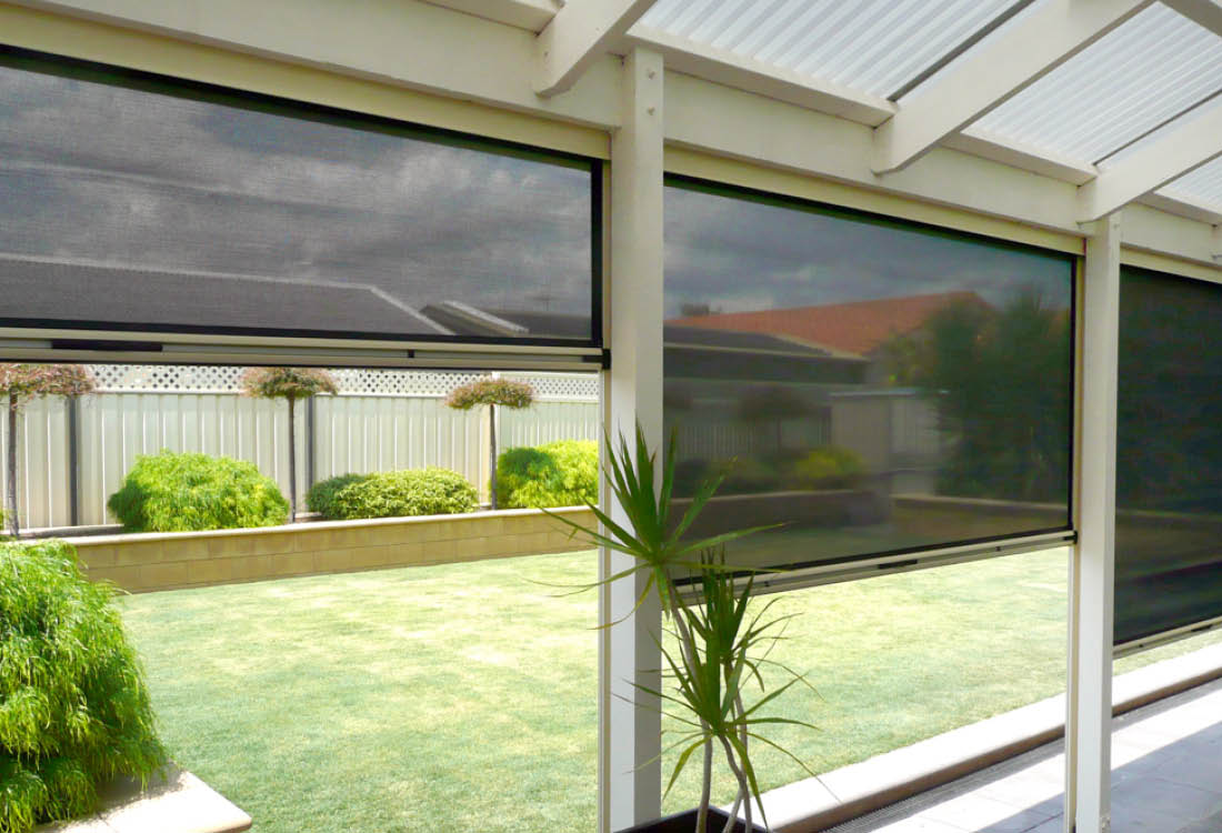 Ziptrak Outdoor Blinds